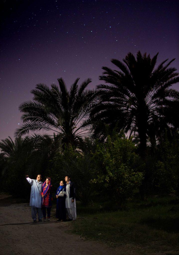 عکاسی در نخلستان اطراف ایرانشهر - سفر سیستان و بلوچستان