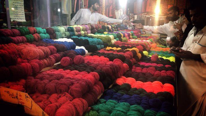 بازار ایرانشهر - سفرنامه سیستان و بلوچستان